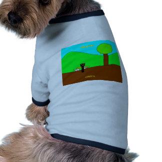 chif with migo.png dog t shirt