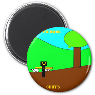 chif with migo.png fridge magnets