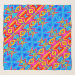 "Chiffon Scarf - 014 - Blue and Red<br><div class=""desc"">Chiffon Scarf - 014 - Blue and Red</div>"
