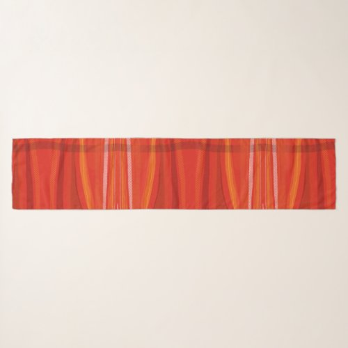 "Chiffon Scarf viii (16 x 72"") Red"
