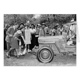 Chigago Children Do Their Part in WW2 Card