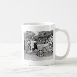 Chigago Children Do Their Part in WW2 Classic White Coffee Mug
