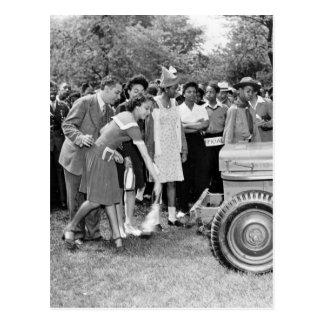 Chigago Children Do Their Part in WW2 Post Card