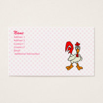 Chiggy Chicken Business Card