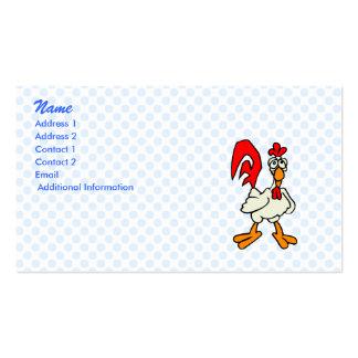 Chiggy Chicken Business Card