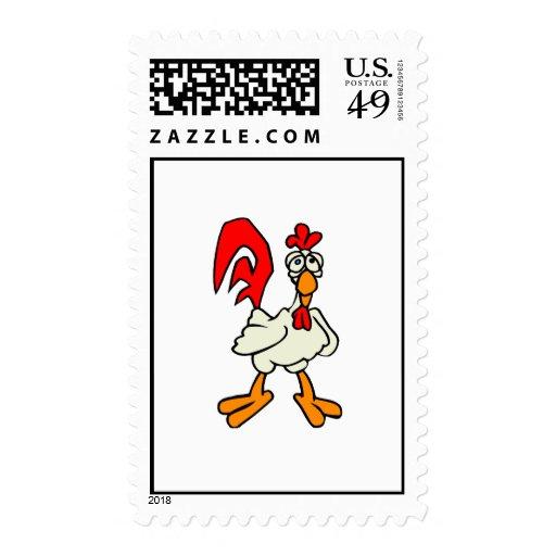 Chiggy Chicken Stamp