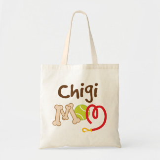 Chigi Dog Breed Mom Gift Tote Bag