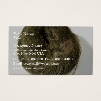 Chignon Vogue doughnut bun Business Card