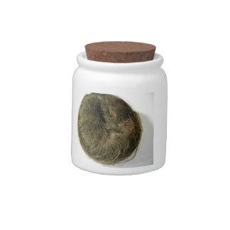 Chignon Vogue doughnut bun Candy Jar