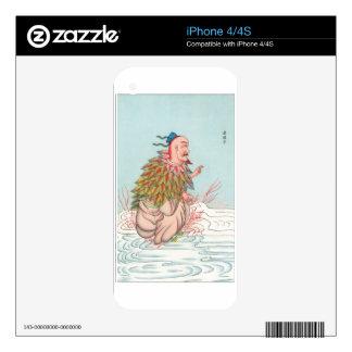 Ch'ih-tsing-tze, dios del fuego del tho calcomanías para iPhone 4