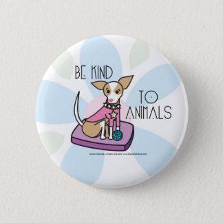 chihuaha pinback button