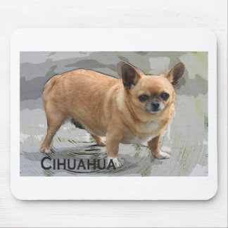 Chihuahua   チワワ  чихуахуа צ'יוואווה mouse pad