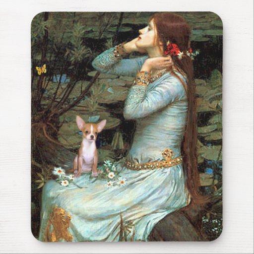 Chihuahua 1 - Ophelia Seated Mouse Pad
