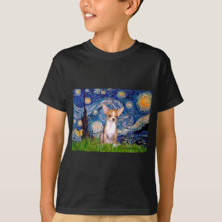 Chihuahua 1 - Starry Night T-Shirt