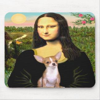 Chihuahua 1b - Mona Lisa Mouse Pad