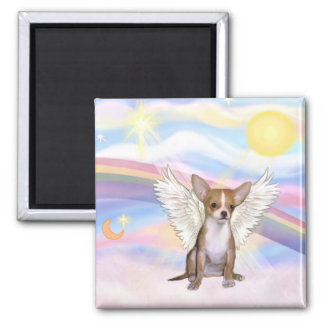 Chihuahua 2 Inch Square Magnet