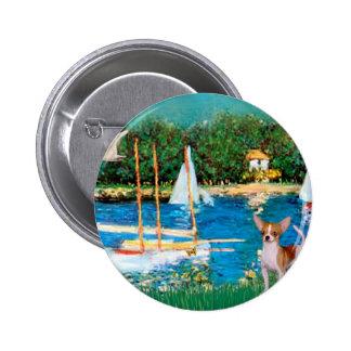 Chihuahua 4 - Sailboats Buttons