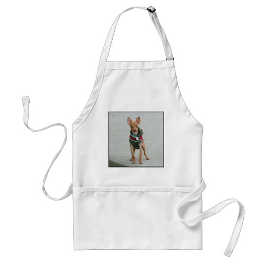 Chihuahua Adult Apron