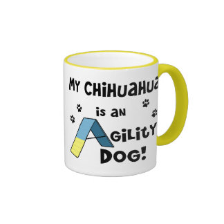 Chihuahua Agility Dog Ringer Coffee Mug