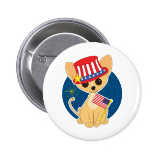 Chihuahua America Buttons
