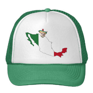 CHIHUAHUA AND MEXICO TRUCKER HAT