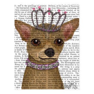 Chihuahua And Tiara Postcard