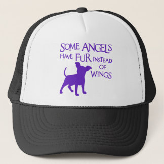 CHIHUAHUA ANGEL TRUCKER HAT