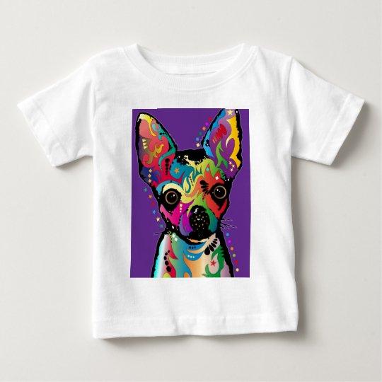 Chihuahua Art Baby T-Shirt