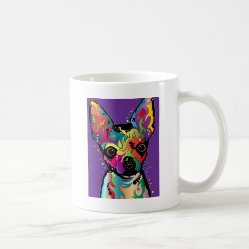 Chihuahua Art Classic White Coffee Mug