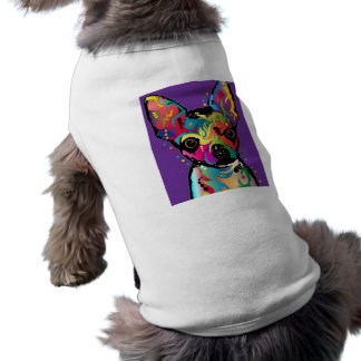 Chihuahua Art Pet T-shirt