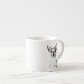 Chihuahua Art Espresso Cup