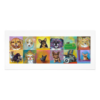 Chihuahua art fun Fierce and Proud little dogs Custom Invitation