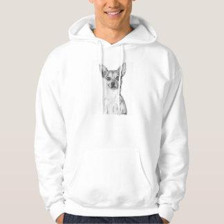 Chihuahua Art Hoodie