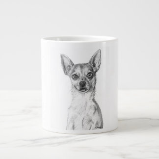 Chihuahua Art Large Coffee Mug