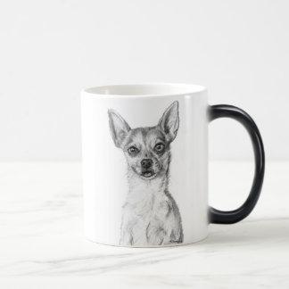 Chihuahua Art Magic Mug