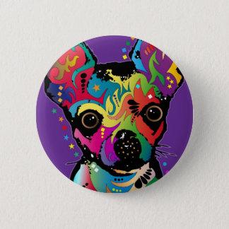 Chihuahua Art Pinback Button