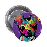 Chihuahua Art Pins