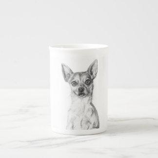 Chihuahua Art Tea Cup