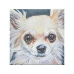 Chihuahua Artwork Canvas Print
