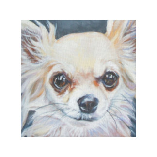 Chihuahua Artwork Canvas Print