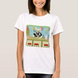 Chihuahua Bamboo Tiki Bar T-Shirt