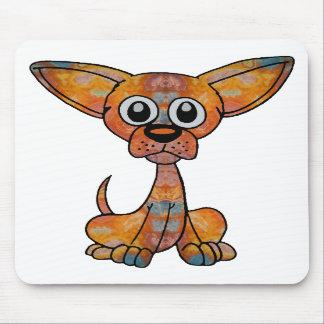 Chihuahua Batik Mouse Pad
