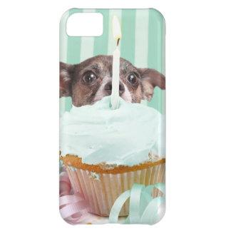 Chihuahua birthday cake iPhone 5C case