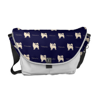 Chihuahua BL Courier Bag