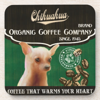 Chihuahua Brand – Organic Coffee Company Coasters