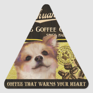 Chihuahua Brand – Organic Coffee Company Triangle Sticker