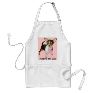 Chihuahua Breast Cancer Apron