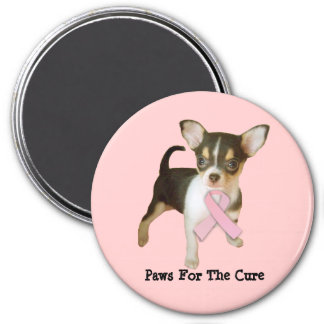 Chihuahua Breast Cancer Magnet
