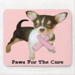Chihuahua Breast Cancer Mousepad