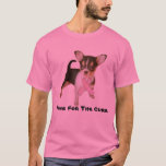 Chihuahua Breast Cancer Unisex T-Shirt